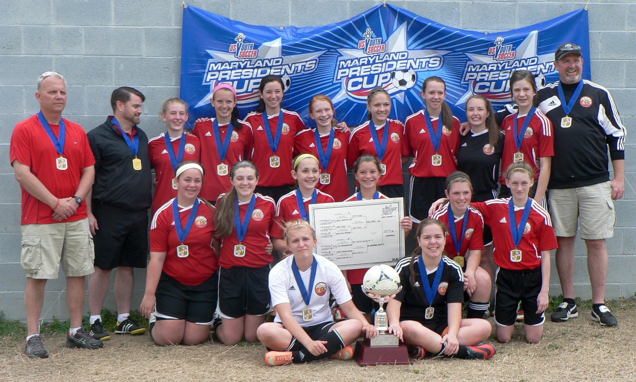 2014 Maryland President's Cup Champions Cecil Fire