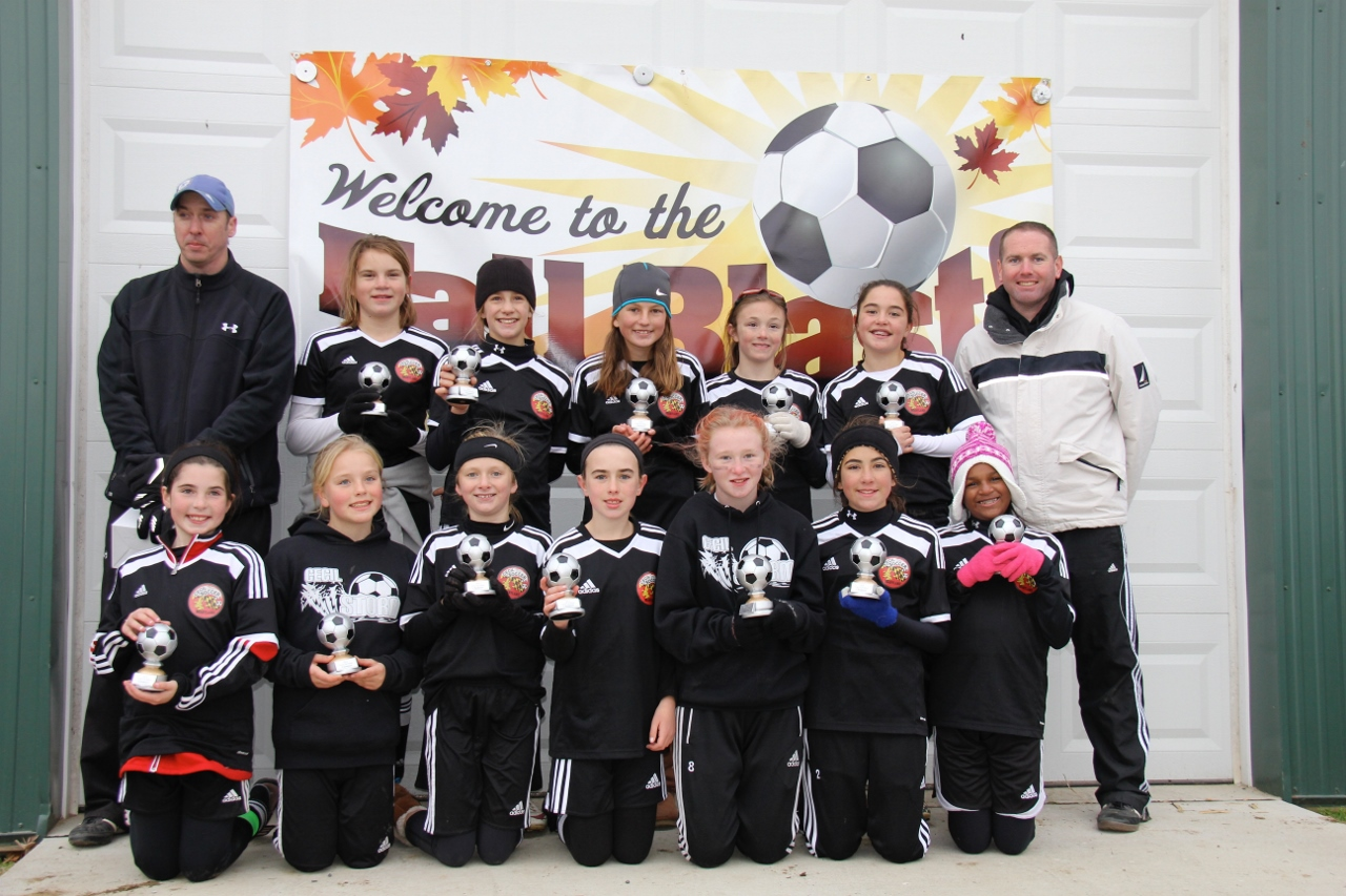 U12 Girls Champs 2015 Fall BLAST