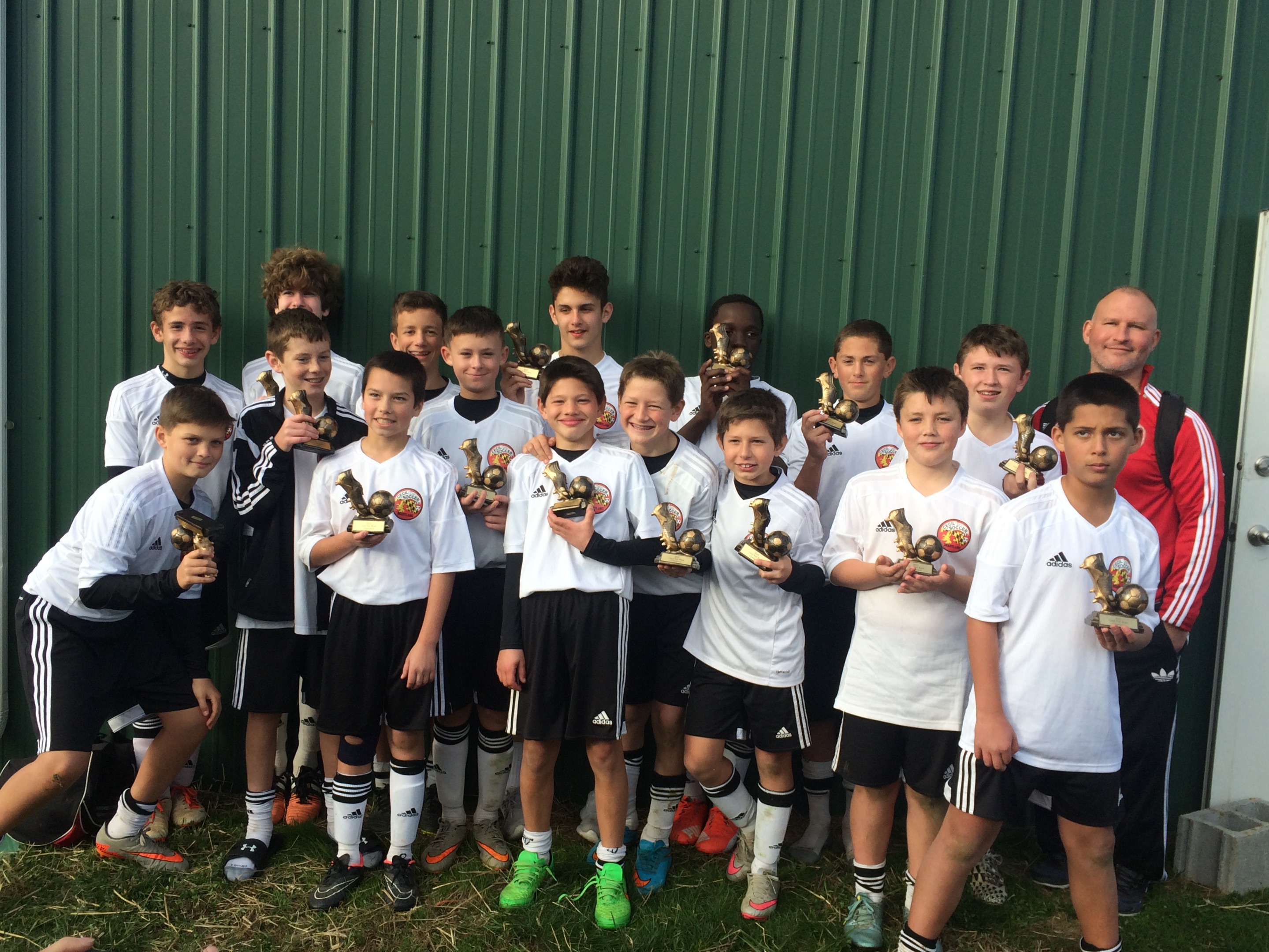 Cecil Arsenal U13 Boys Fall Blast Champs
