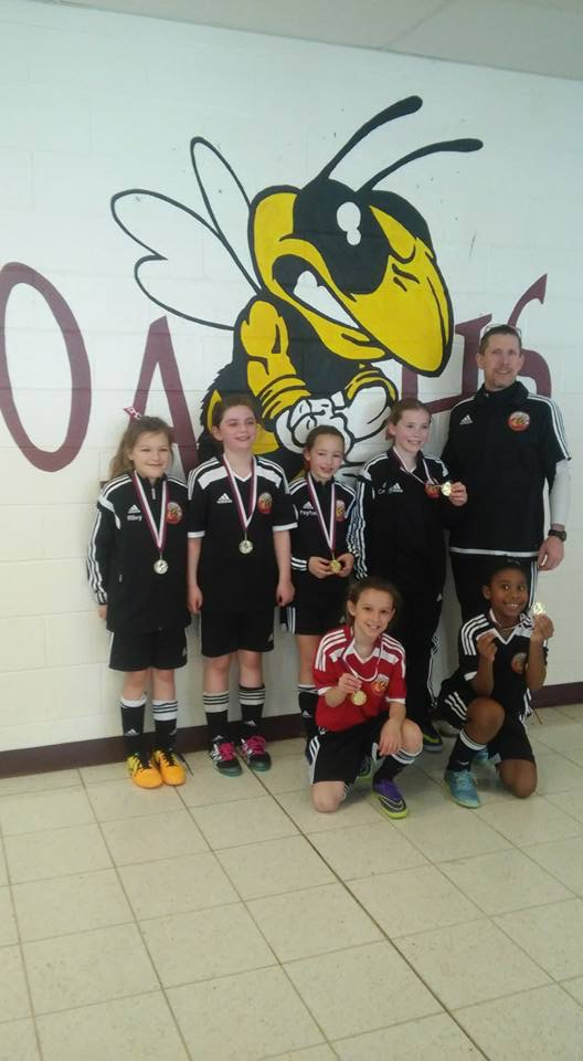 U9 Cecil Surge win Oxford futsal tournament!