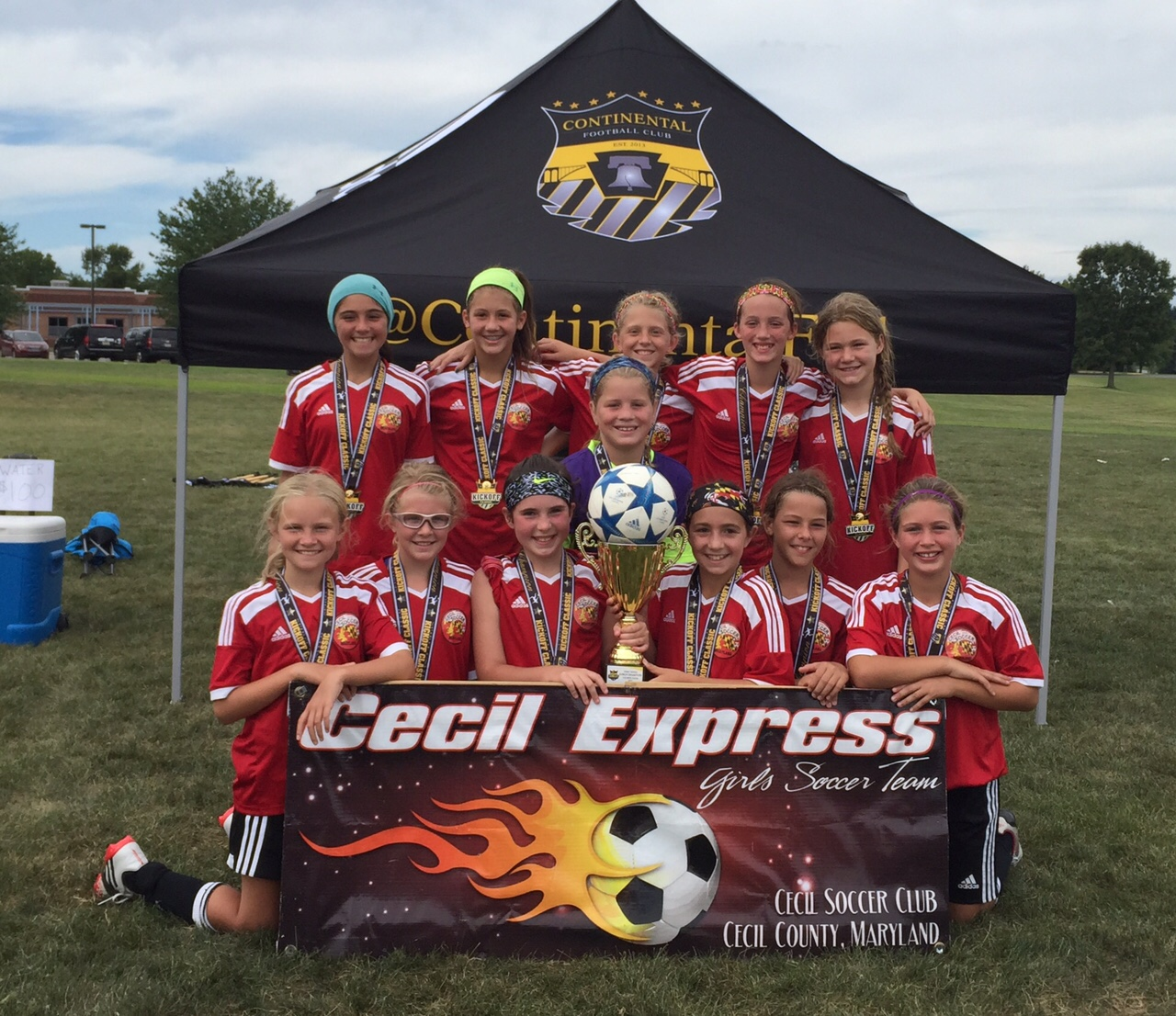 Cecil Express - Spirit United 2015 Champs!