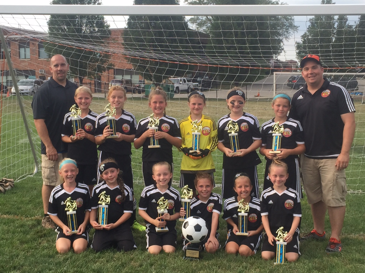 U10 Crush Baxter Blast KOP Champs