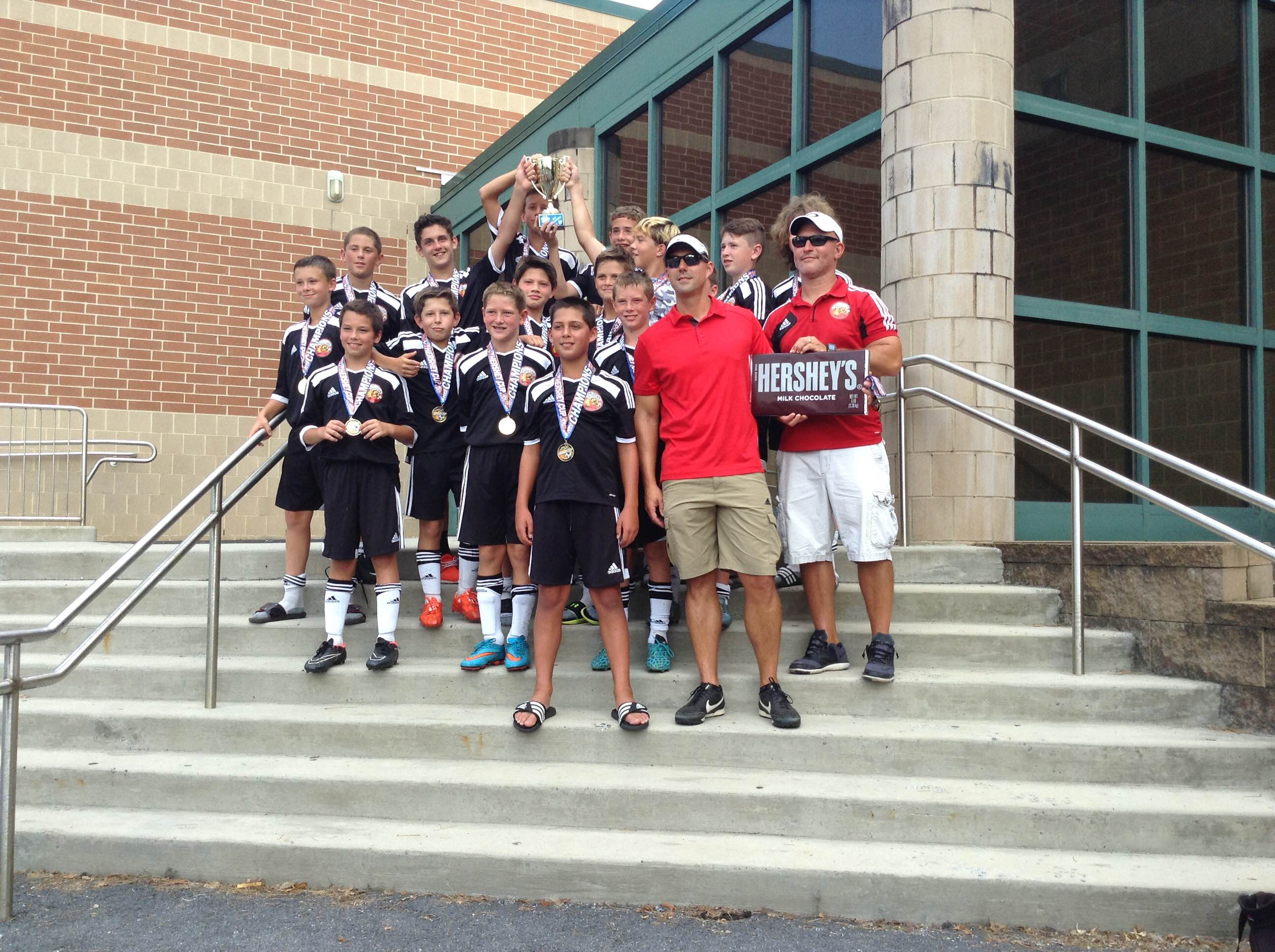 U13 Cecil Arsenal takes 1st place in Hershey Tournament!