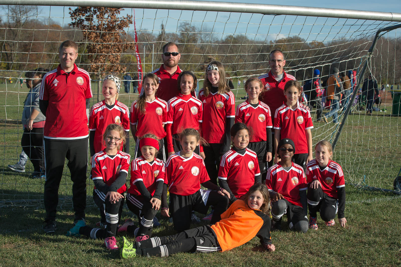 PAGS 2015 U11 Girls 1st Place and undefeated - Cecil Dynamite!