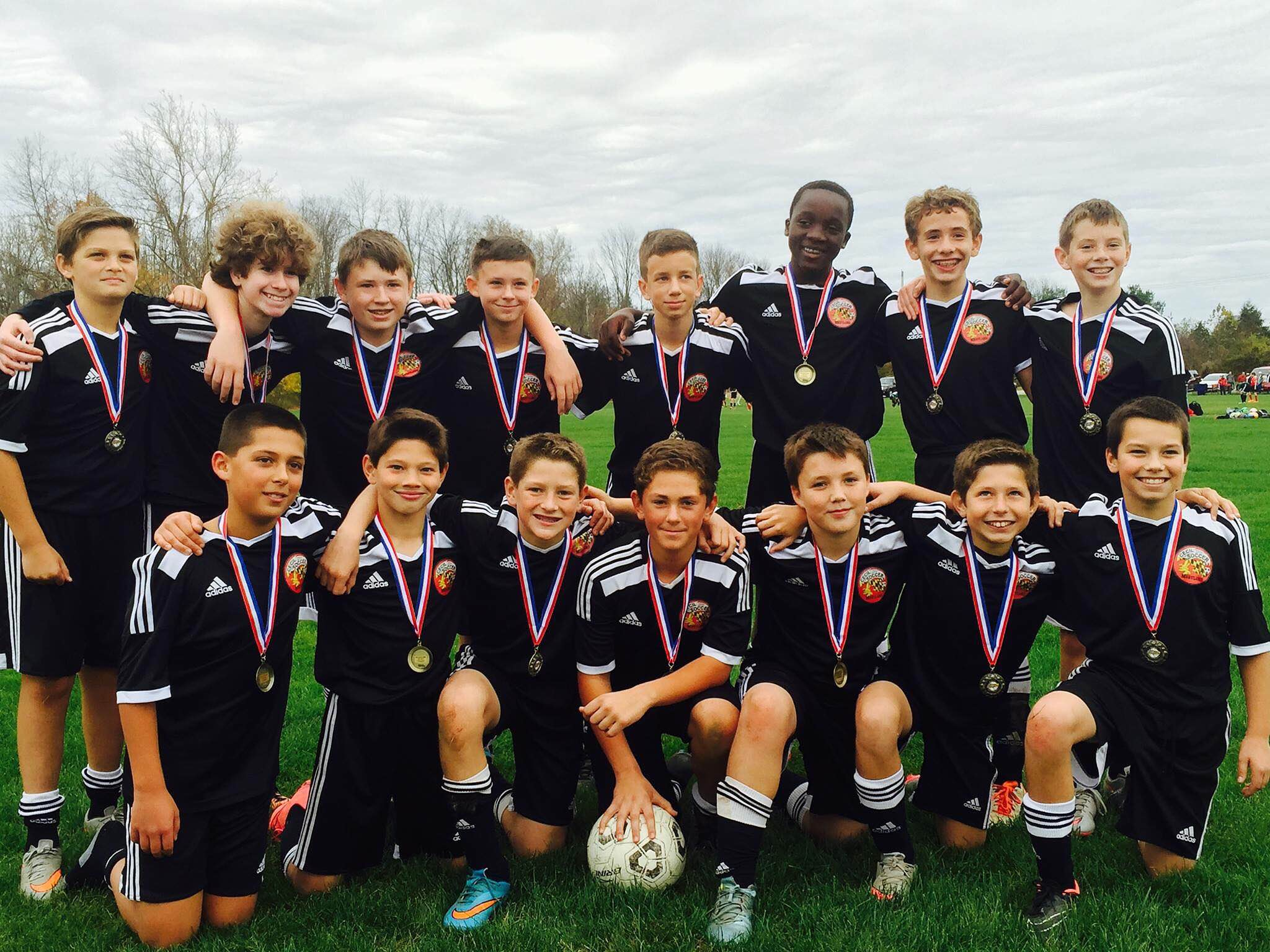 U13 Arsenal Fall 2015 D1 Champs!