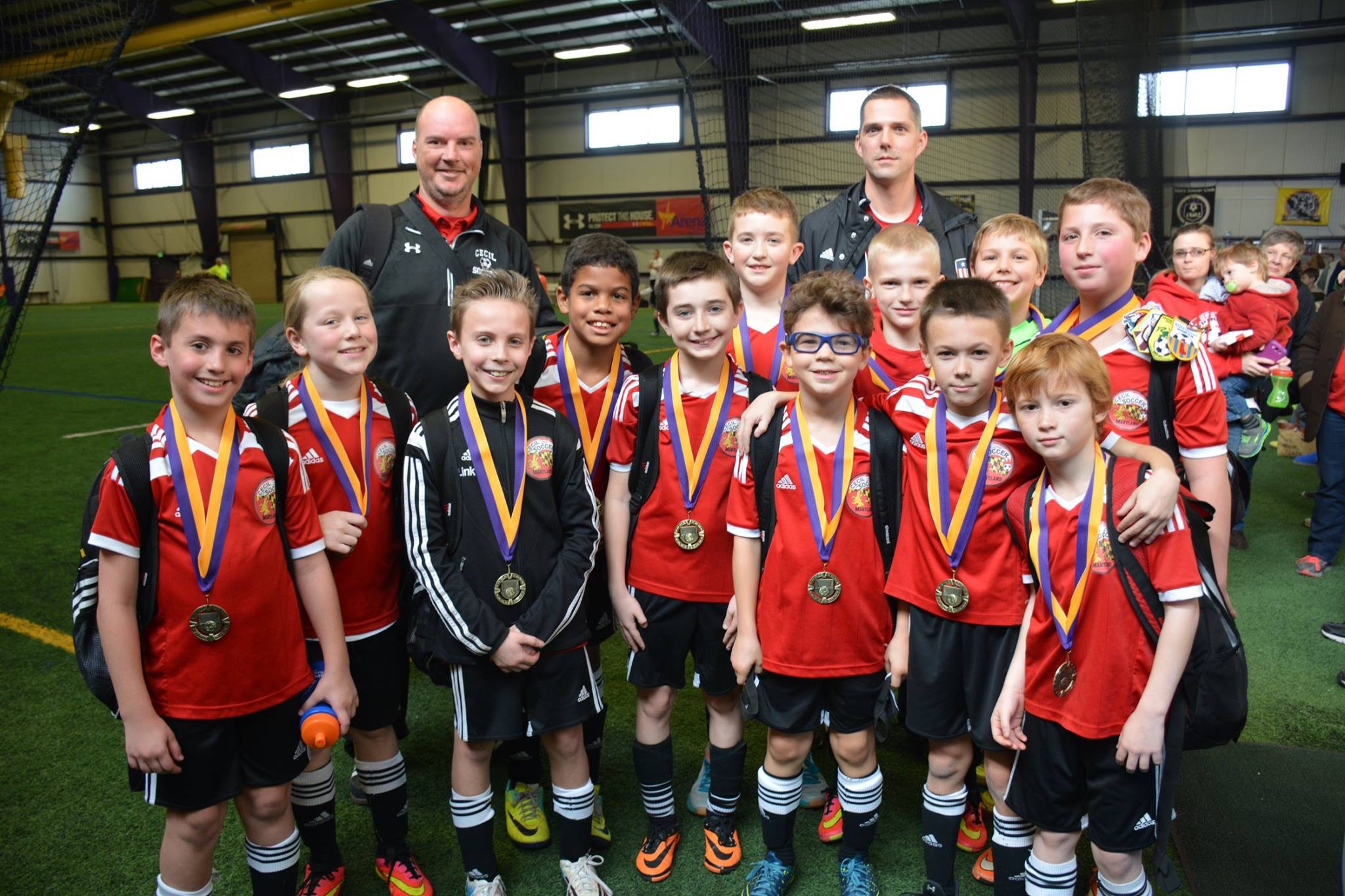 U10 Cecil Spirit Indoor Arena Club Champs!