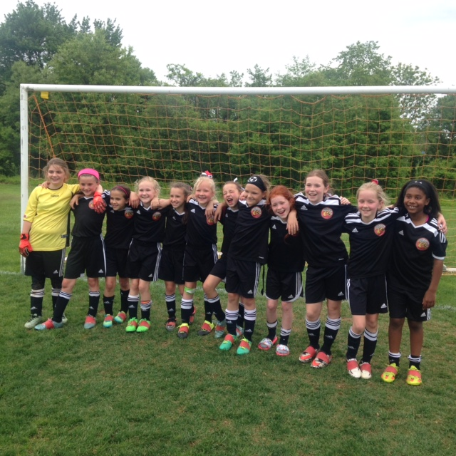 U9 Cecil Surge takes 1st place in PAGS Spring league! Congratulations ladies and coaches!