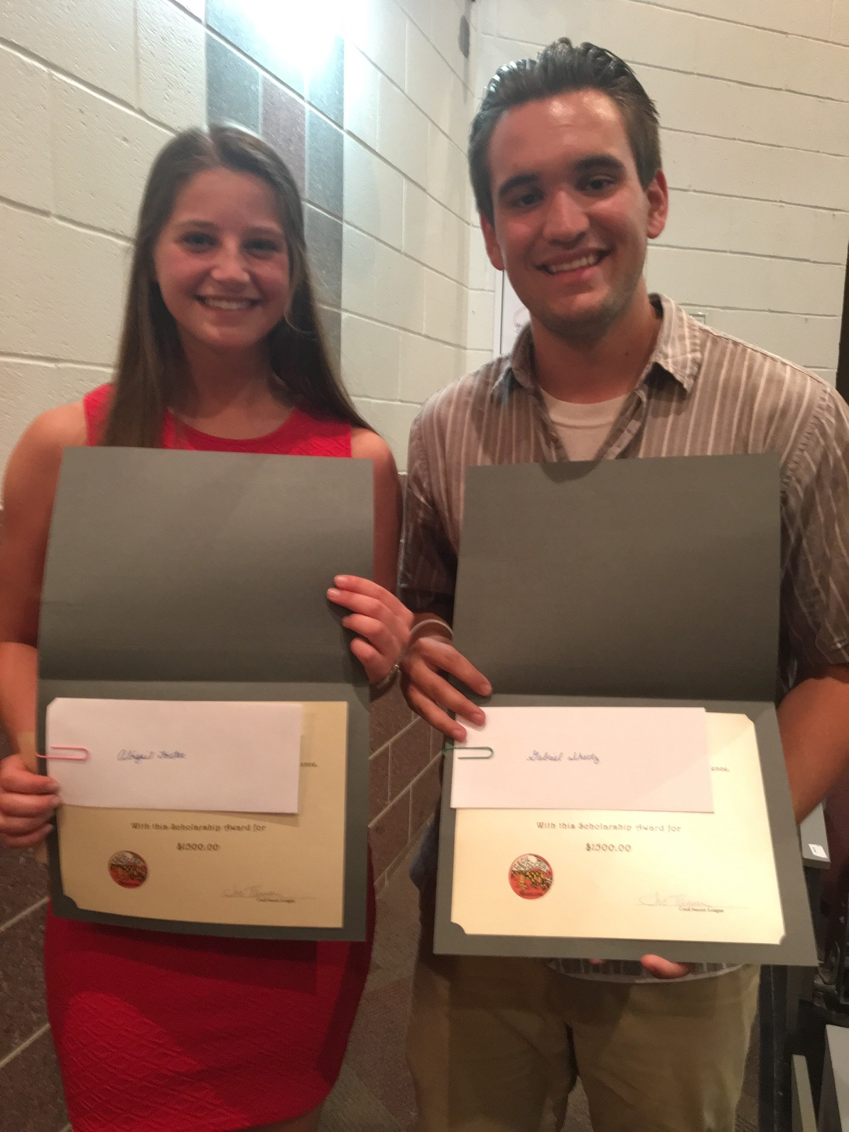 Bo Manor Scholarship recipients