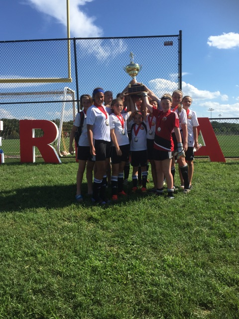 Congrats to the Cecil Hurricanes who took runner up at the Overlea Cup!