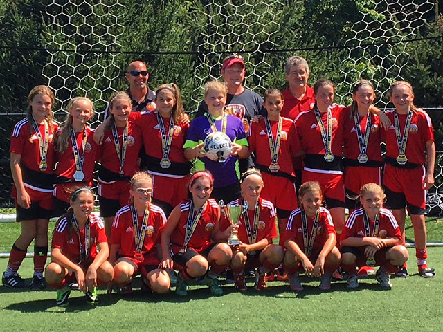 The 2004 (U13) Cecil Express finished 2nd in the 2016 Spirit United Kick-off Classic Tournament