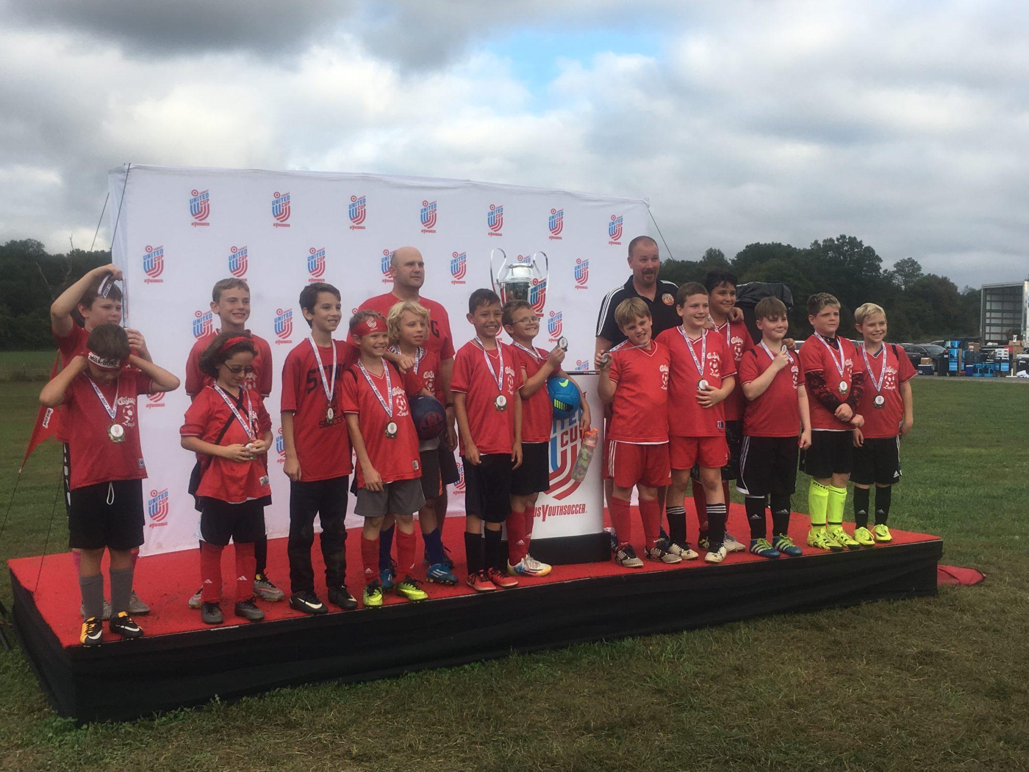 Target United Cup Winners!