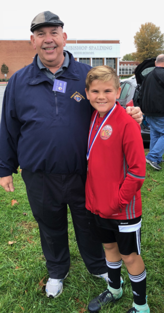 Karson Rice Placed 2nd In The  Maryland State Soccer Shootout